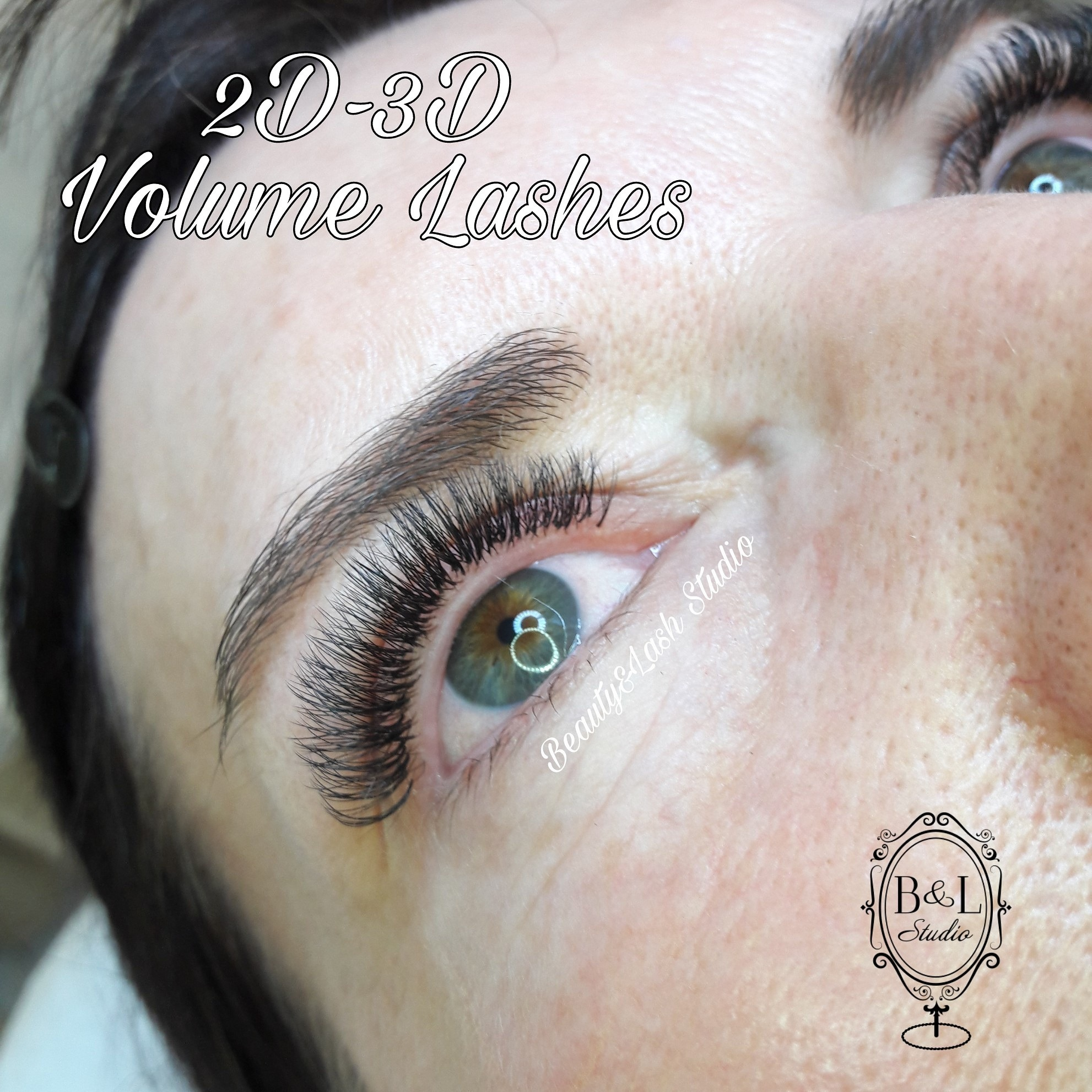 Volume Lashes 2D-3D