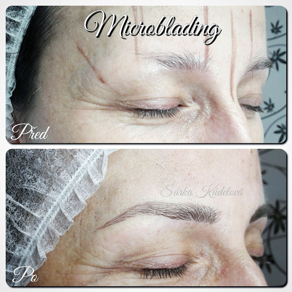 Permanentní make-up: microblading